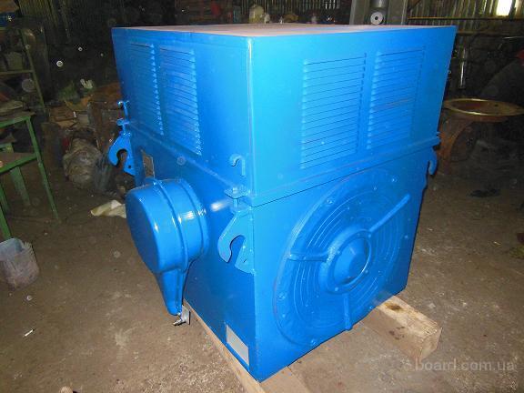 Продается два электродвигателя А4 400ХК 315кВт, 1000об\мин, 6кВ