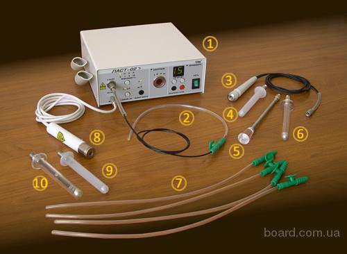 Световоды и насадки для аппарата лазерной терапии Ласт-02