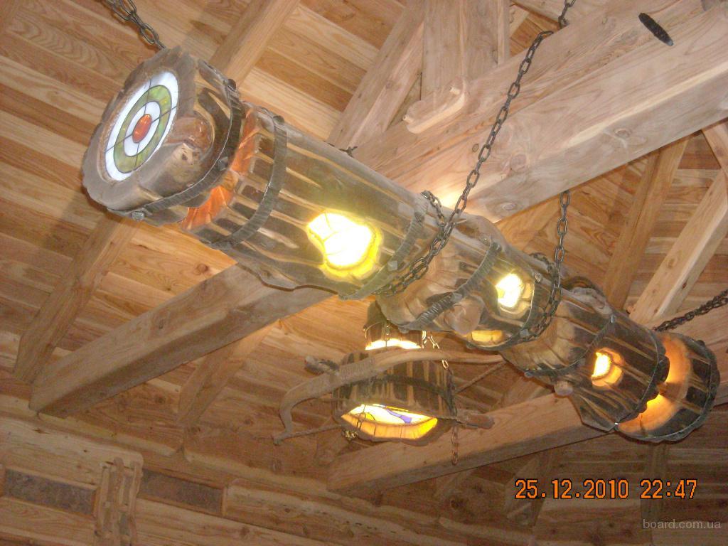 Креативні дерев яні будинки і вироби