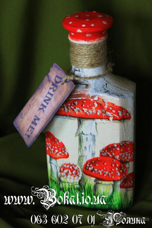 Роспись и декор бутылок и бокалов на праздники.