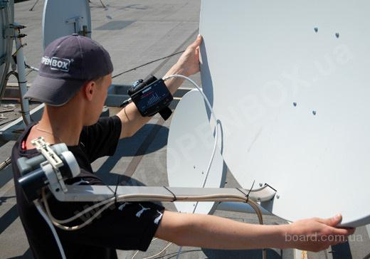 Ремонт, настройка, монтаж спутниковых антенн от компании РКС