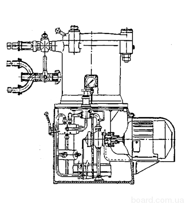 Шприц гидравлический ГШУ – 2.