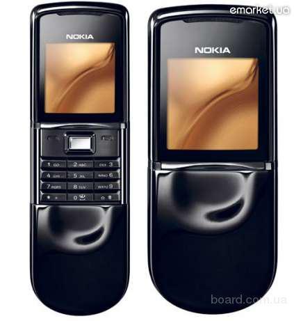 Nokia 8800 Sirocco Black UA Новый Оригинал Гарантия