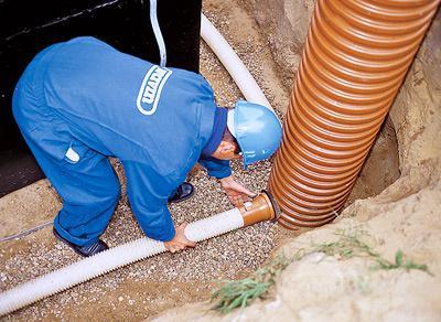 Статьи о дренаже, дренажных трубах, наружной канализации, трубах ПВХ