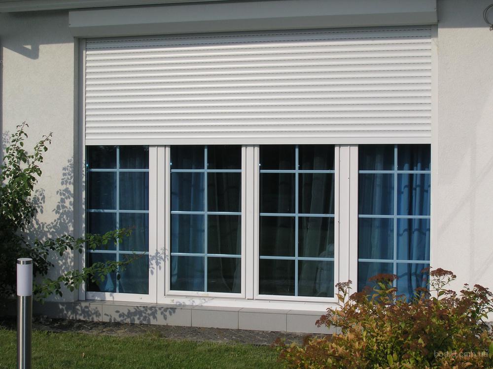 Металлические рольставни на окна и двери: цена, фото, отзывы