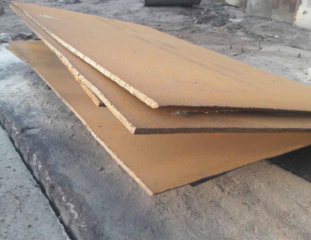 Лист 22 и 25 мм ст. 3СП и 09Г2С раскрой 2х6 ;1.5х6;2х8 и др.  со склада. Лежалый.