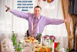 Українськомовний ведучій тамада Адамов В. та музика на весілля,банкети,випусні,ювілеї,виставки та інше.