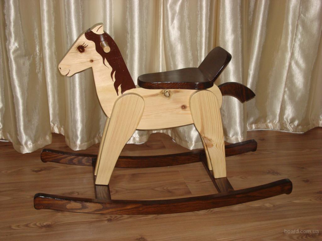 Деревянная лошадка качалка своими руками фото