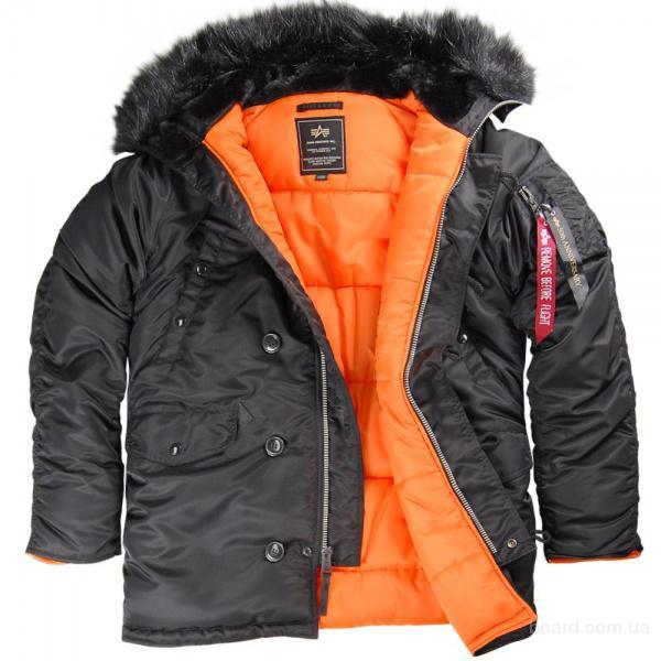 Зимняя мужская куртка аляска N-3B от компании NORD STORM (Норд Шторм Норвегия) является точной копией мужской зимней...