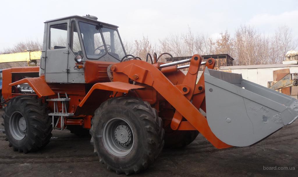 Гусеничный трактор Т-150 с мазовским двигателем (мотором.