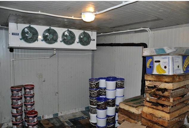 Камеры шоковой заморозки и хранения рыбы с установкой в Крыму.