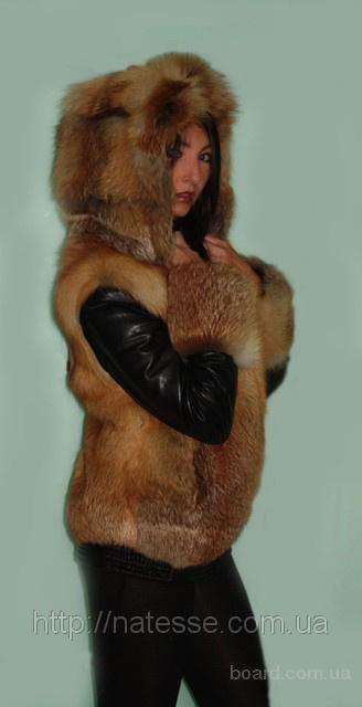 куртка с мехом лисы фото цена