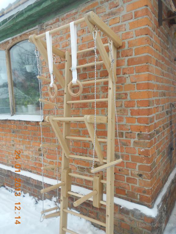 Как сделать деревянную шведскую стенку своими руками
