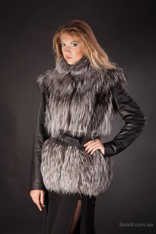 куртка с мехом чернобурки фото цена