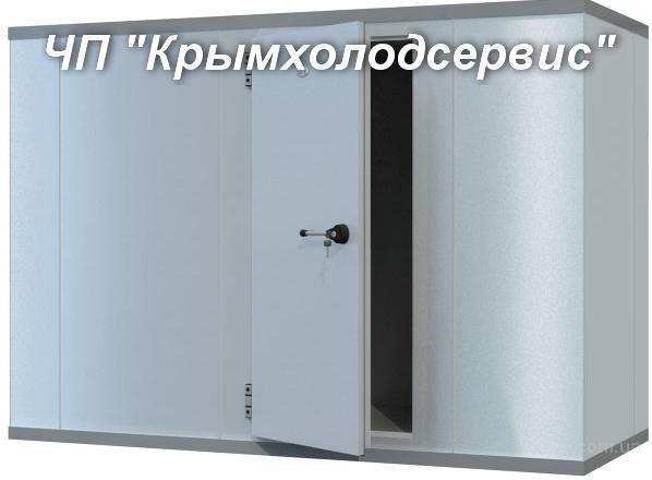 Холодильные камеры под ключ в Крыму.Монтаж,оборудование.