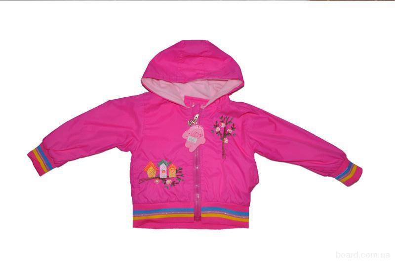 Детская ветровка деми для девочек. Детская одежда, Украина