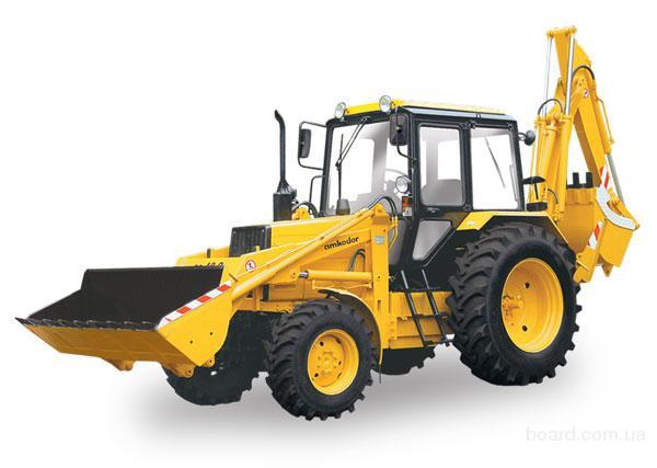 Экскаватор-погрузчик ЭО-2626 на базе трактора МТЗ-82.1П, укомплектованный фронтальным погрузочным ковшом...