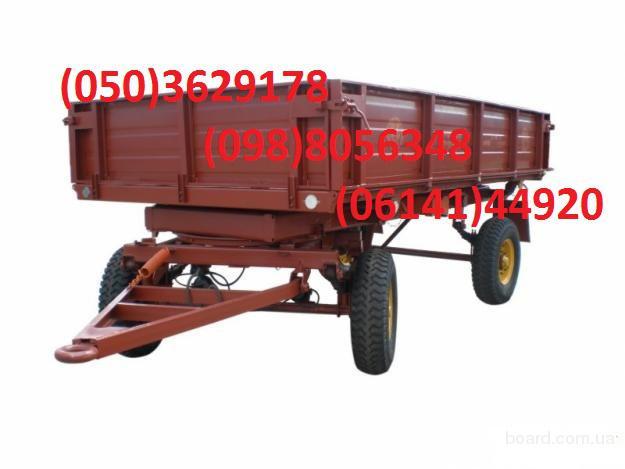 Прицеп тракторный 2ПТС-4 предназначен для перевозки различных с/х грузов.  Небольшая загрузочная высота, система...