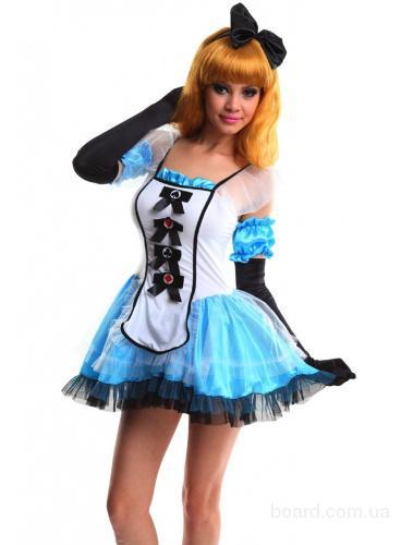 Карнавальный костюм Алисы в Зазеркалье
