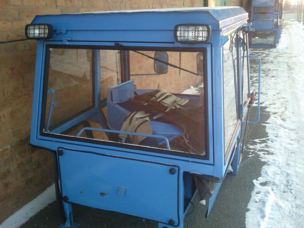 Купить восстановленную кабину к трактору МТЗ 1222 - YouTube