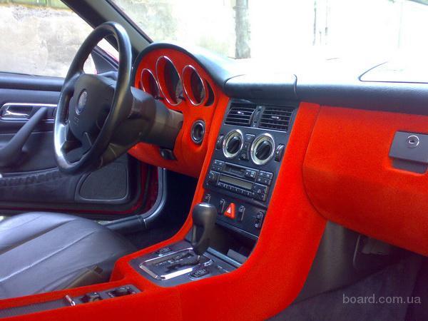 Флокирование салона автомобиля фото - Журнал авто