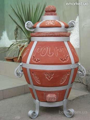 7 000 грн.  Тандыр- изготовлен из керамической глины (словенского керамического завода донецкой области)глина.