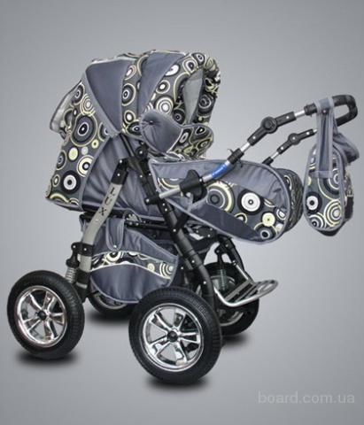 Детская коляска с рождения трансформер Lux