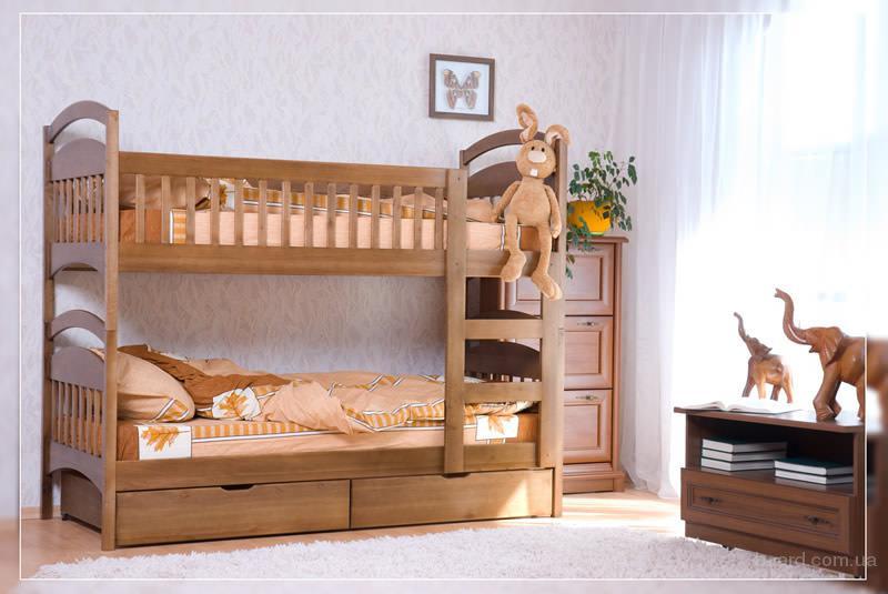 Акция! Кровать Карина + матрасы Active baby