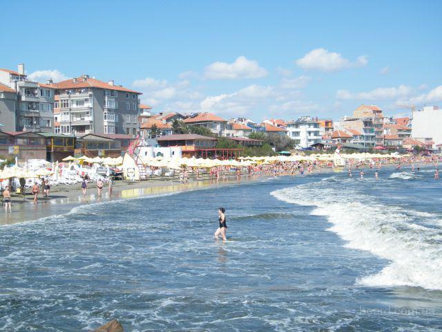 Отдьiх на Черном море в Болгария , г. Поморие
