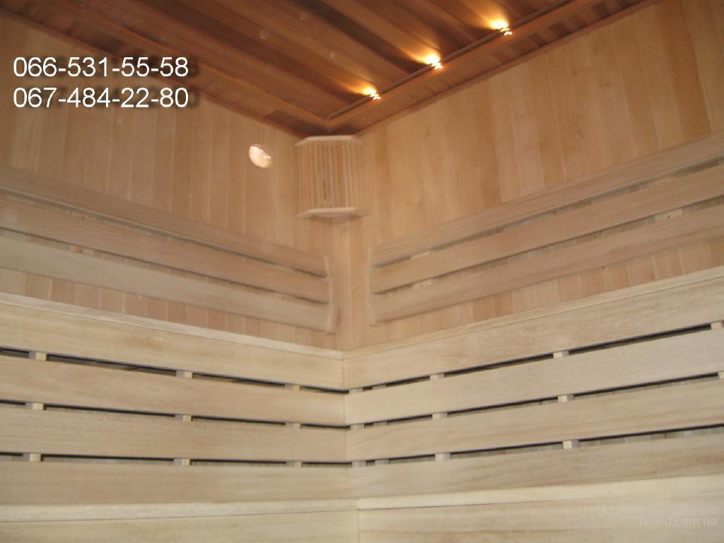 Строительство бань и саун под ключ