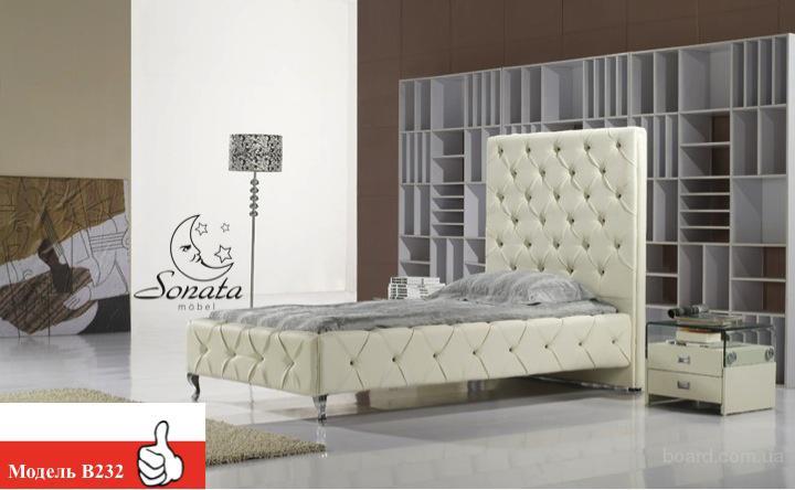 Немецкий дизайн для вашей спальни. Купить кожаную кроват.