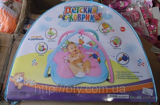 Купить недорого детский развивающий коврик для новрожденных и малышей: цена, отзывы, фото в интернет