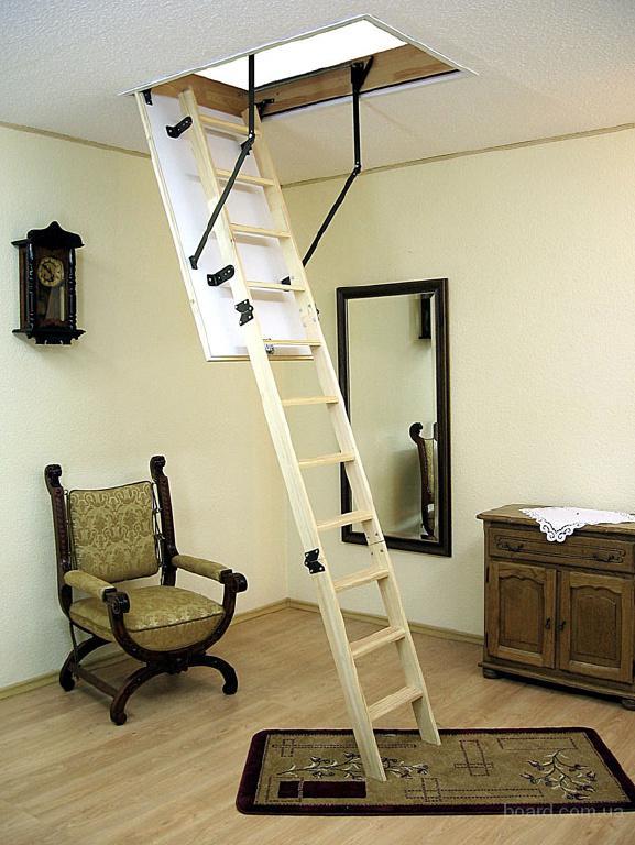 Чердачная лестница TERMO LONG 120x70.