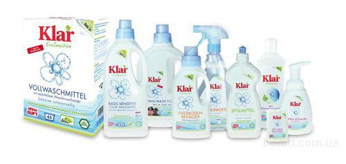 Экологически безопасные средства бытовой химии из Германии Klar