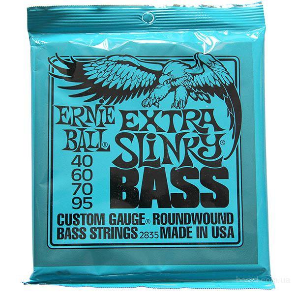 Струны бас Ernie Ball 2835 Extra Slinky 40-95