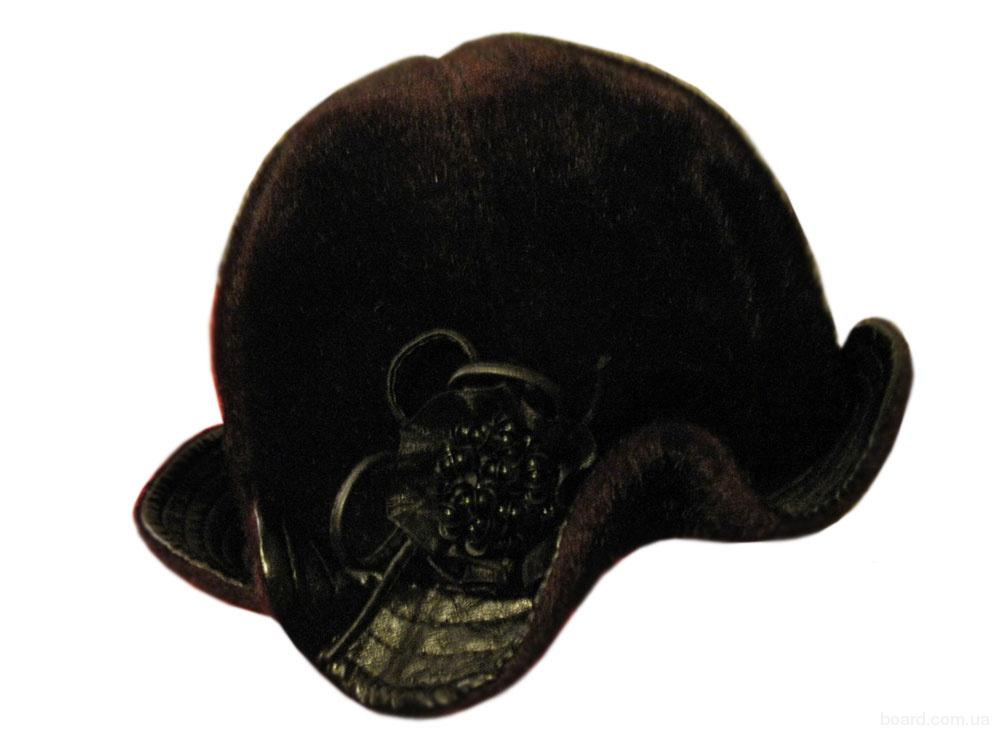Элегантная шляпка из искусственного меха