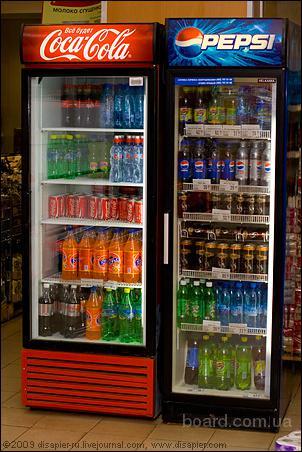 холодильники Coca-Cola