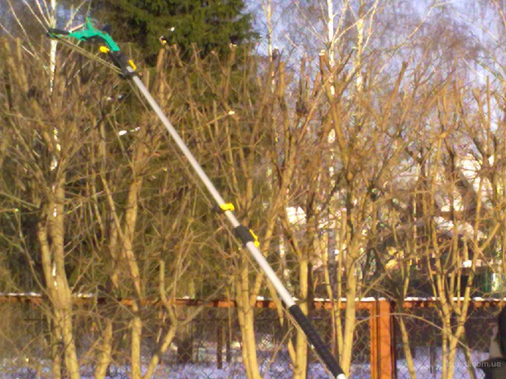 Обрезка сада, формирование кроны деревьев и кустарников, удаление сухих и проблемных деревьев, газоны...