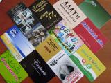 Дисконтные карточки, рекламные наклейки Черкассы