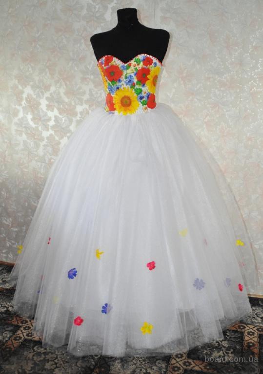 Свадебного платья в украинском стиле
