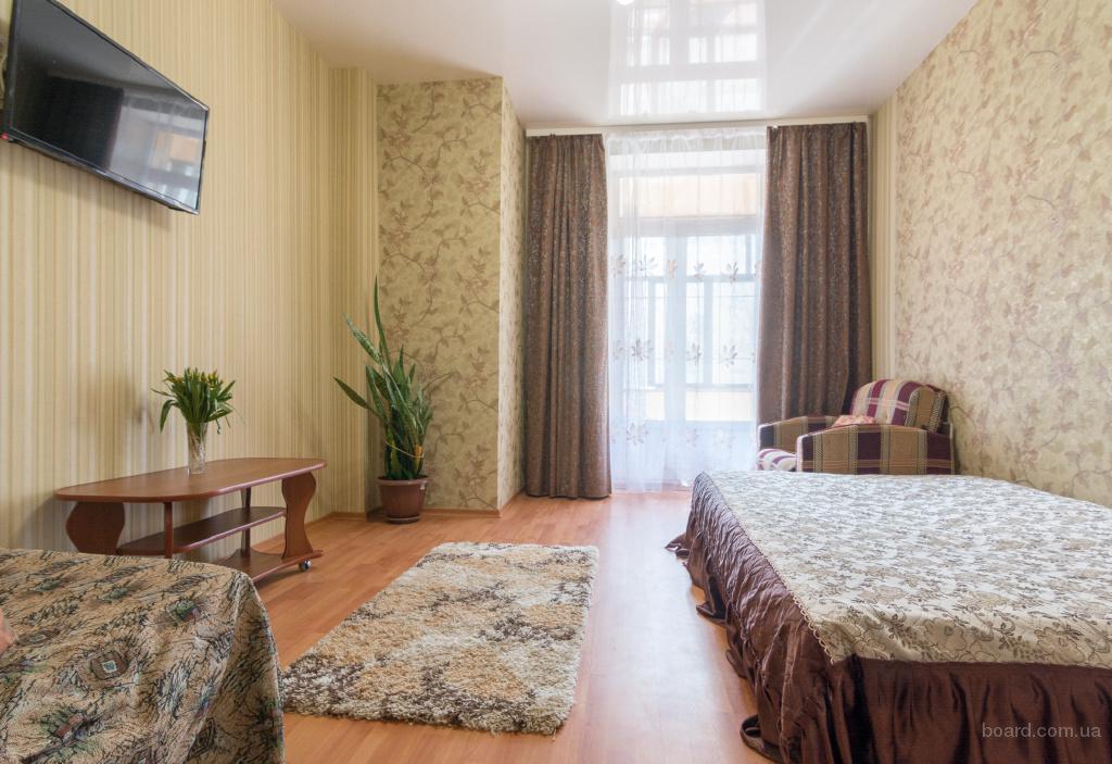 Краткосрочная аренда посуточно своя двухкомнатная квартира. Харьков. Центр.