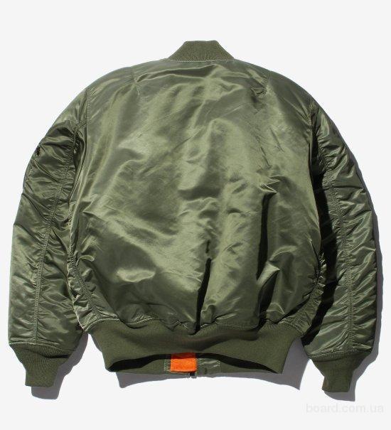Куртка бомбер MA-1 Alpha Industries, USA