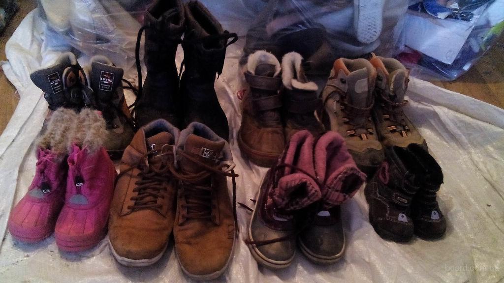 Обувь мужская и детская 2+1 сорт..