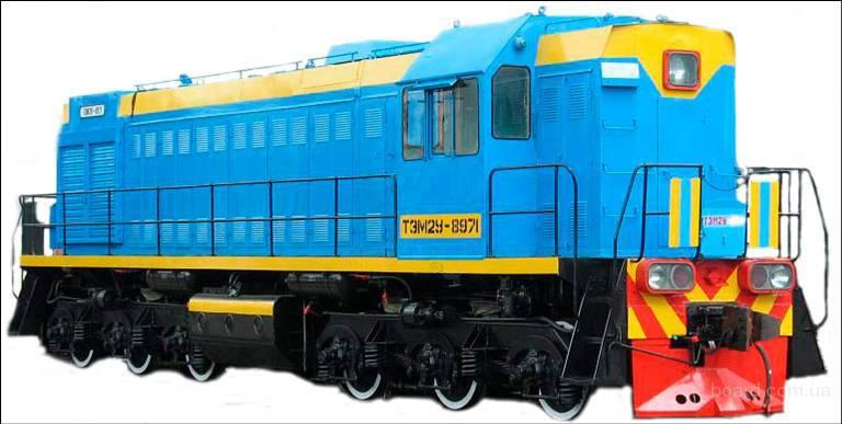 Силовая установка тепловоза состоит из дизеля марки ПД1М и электрической передачи постоянного тока.  Тепловоз ТЭМ2У...