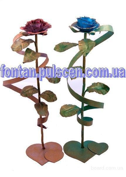 Кованые розы подарки игрушки сувениры на дни рождения праздники для девушек парней родителей сотрудников