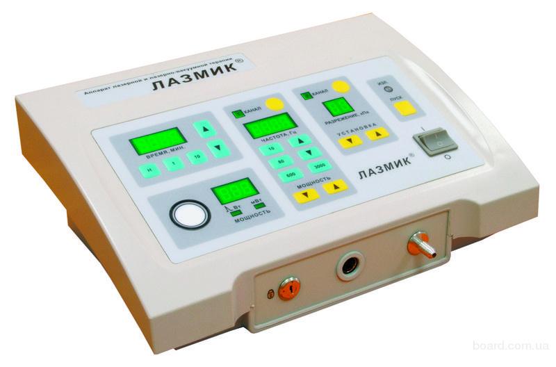Аппарат лазерной и лазерно-вакуумной терапии Лазмик-03