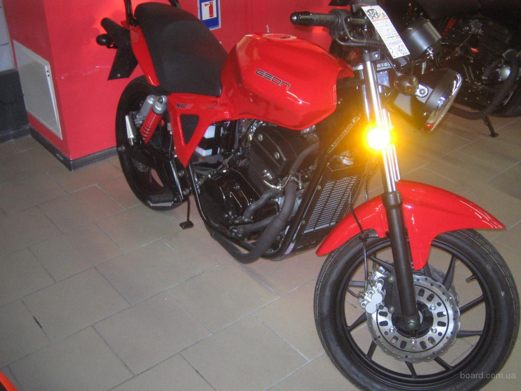 Продам новый мотоцикл geon nac продам