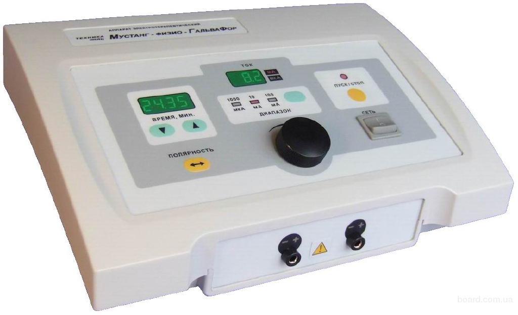 Аппарат косметологический для микроионофореза и микротоковой терапии Мустанг-Физио-ГальваФор. Аппаратная косметология.