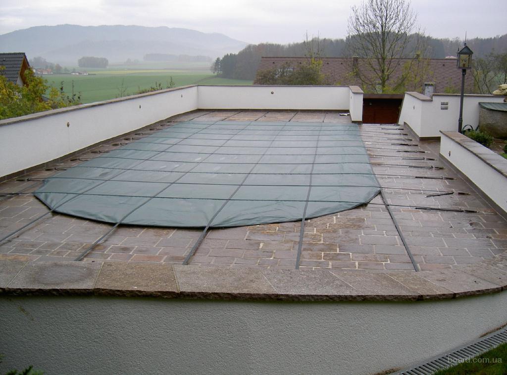 Накрытие для стекловолоконного и композитного бассейна