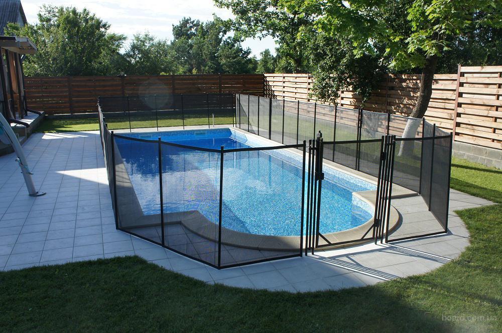 Забор для басейна